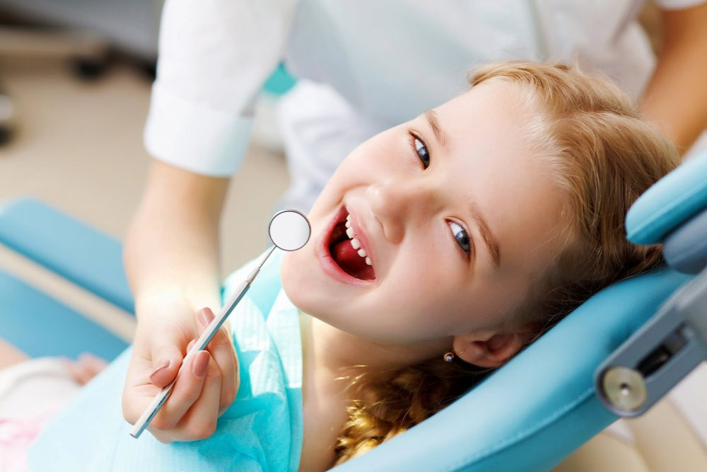 Vaiku dantu prieziura