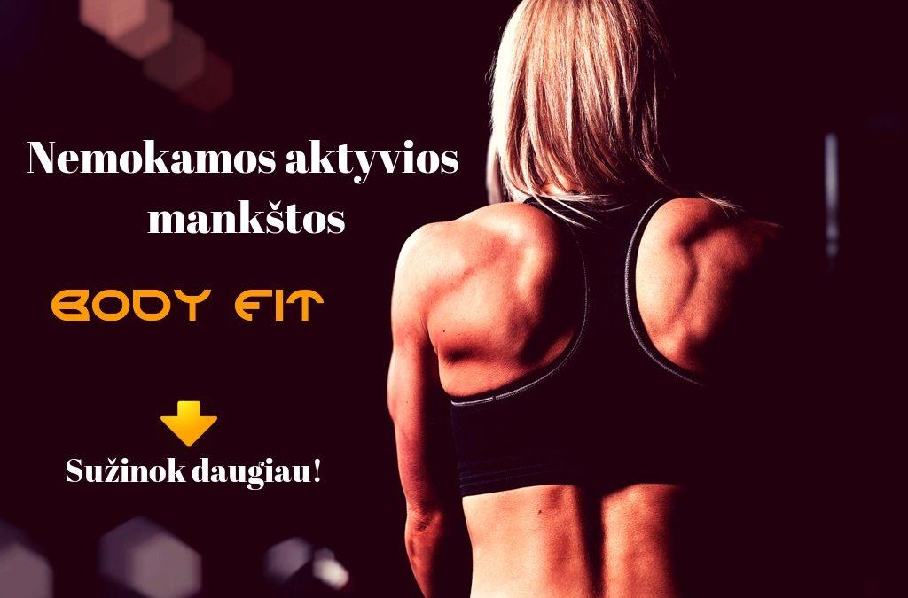 "Aktyvios treniruotės ""Body fit"""