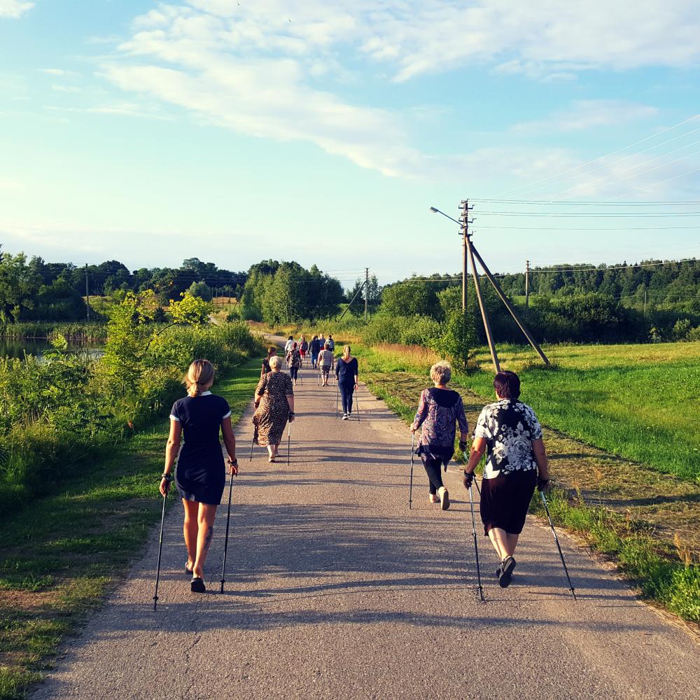 Susitikimas su Mačionių kaimo bendruomene