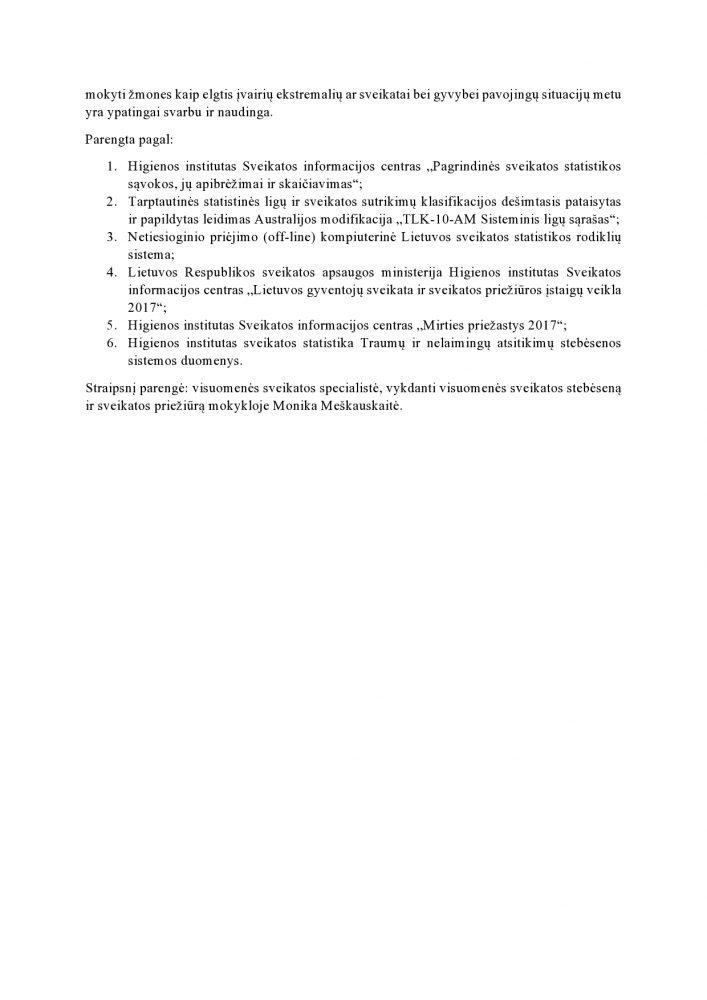 Projekte išskirtų sveikatos rodiklių apžvalga-page0004
