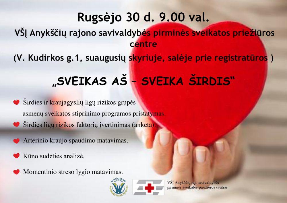 sveikatos širdis)