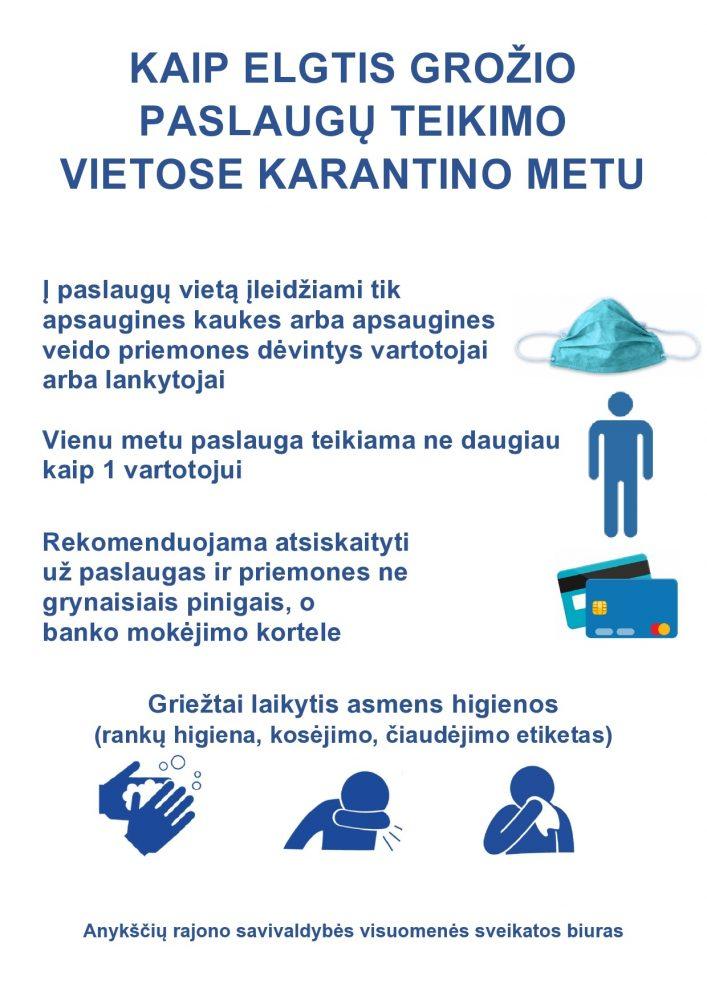 KAIP ELGTIS PASLAUGU VIETOSE KARANTINO METU_plakatas-page0001