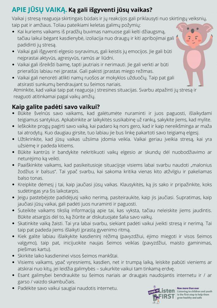 lankstinukas tėvams LISTEN FIRST-page-1